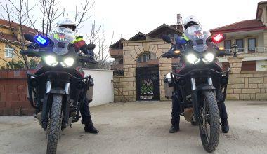 Jandarma motosikletli trafik timi göreve başladı