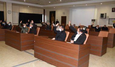 Olağanüstü toplantıda, Erikli için oy birliği…