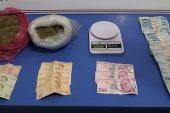 Keşan'da bir araçta 1 kilo 200 gram uyuşturucu ele geçirildi