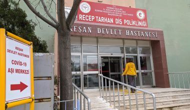 Keşan'da Kovid-19 Aşı Merkezi kuruldu