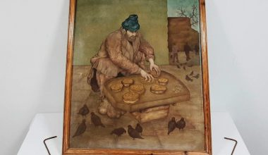 Osmanlı dönemine ait tabloyu satmaya çalıştığı öne sürülen zanlı yakalandı