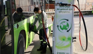 Doğal gazlı otobüslerle 30 milyon lira tasarruf