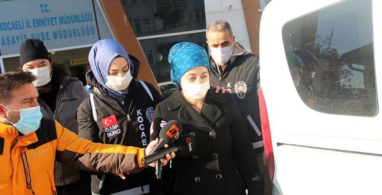 GÜNCELLEME – Kocaeli'de yeni doğan bebeğini öldürdüğü iddia edilen kadın adliyede