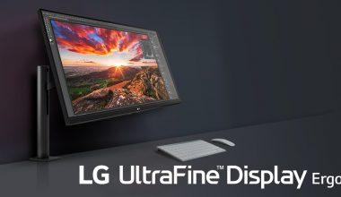 LG'den ergonomik ve 4K monitör