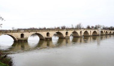 Meriç Nehri debisi son ayların en yüksek seviyesine yükseldi