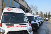 Sağlık Bakanlığından,10 ambulans daha…