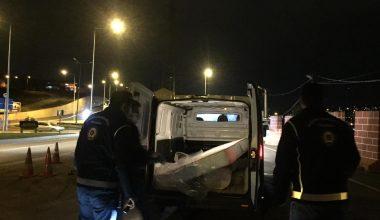 21 düzensiz göçmen yakalandı