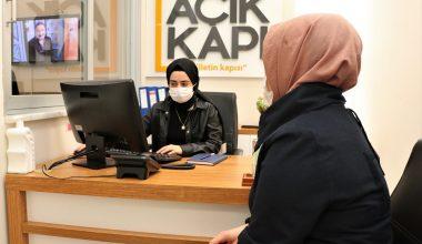 Sultanbeyli Açık Kapı Birimi 2020'de 23 bin 290 başvuruyu sonuçlandırdı