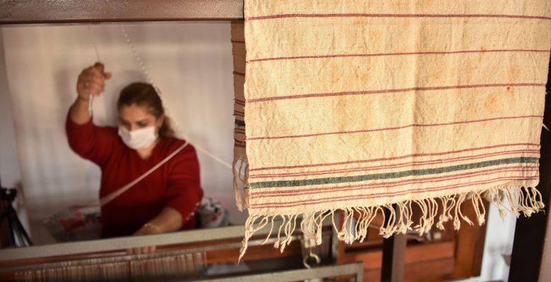 Tarihi kentin kadınları devlet desteğiyle hayallerini ilmek ilmek dokuyor