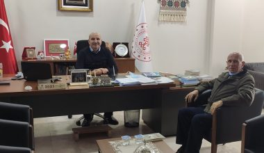 Tekirdağ Kültür ve Turizm Müdürü Hacıoğlu'na ziyaret
