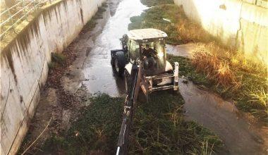 Taşkın ve su baskını riskine karşı Değirmenaltı Deresi temizlendi