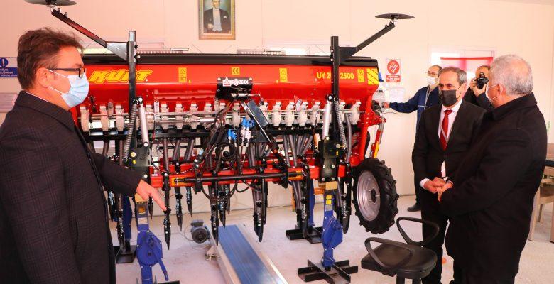 Tekirdağ'da Tarım Makinaları ve Teknolojileri Ar-Ge ve İnovasyon Merkezi açıldı