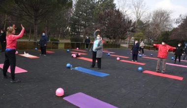 65 yaş üstü başta olmak üzere tüm vatandaşlara yönelik egzersiz etkinliği
