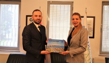 AA Bursa Bölge Müdürü Aksoy, DOSABSİAD Başkanı Çevikel'i ziyaret etti