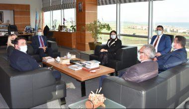 Başkan İba, Tekirdağ'da ziyaretlerde bulundu