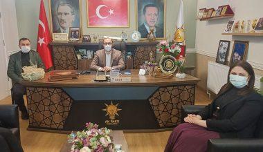Başkan İba'dan AK Parti Kırklareli teşkilatına kutlama