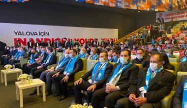 AK Parti Yalova Gençlik Kolları 6. Olağan Kongresi yapıldı