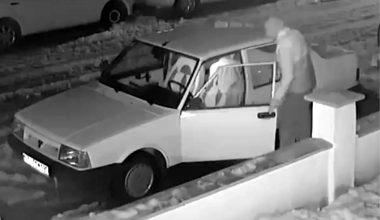 Cezaevinden izinli çıktı, otomobil çalarken yakalandı