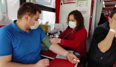 Sokağa çıkma kısıtlamasında randevu ile kan bağışı