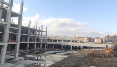 Hastane inşaatı yeniden başladı