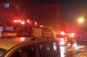 Kullanılmayan 2 evde çıkan yangın söndürüldü