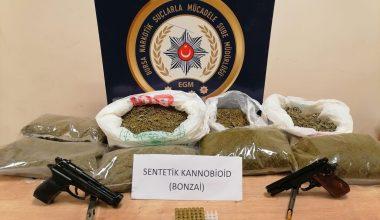 Uyuşturucu operasyonunda 25 şüpheli tutuklandı