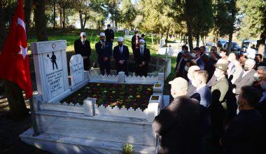 Bigalı Mehmet Çavuş, kabri başında anıldı