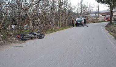 Köpeğe çarpmamak için manevra yapan motosiklet sürücüsü öldü