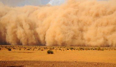 Çöl tozları Trakya'da hava kalitesini etkiledi
