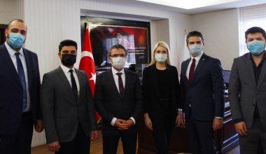 DEVA Partisi il başkanı Arda, Başsavcı Karabacak'ı ziyaret etti
