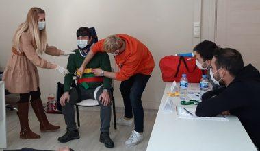 Edirne'de göreve yeni başlayan sağlıkçılara eğitim