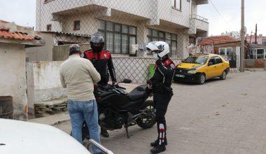Keşan'da asayiş denetimlerinde 82 kişiye ceza