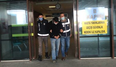 Edirne'de çaldığı eşyalarla bindiği taksinin sürücüsünün yakalattığı zanlı tutuklandı