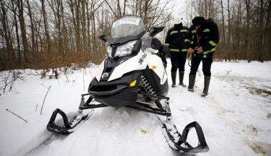 """Enerji timleri karla kaplı bölgelere """"Kaplan"""" ile ulaşıyor"""