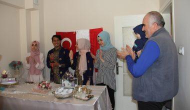 Endonezyalı genç ile Türk kızının ilginç nikahı!