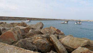 Enez açıklarında kaybolan balıkçı için arama kurtarma çalışması