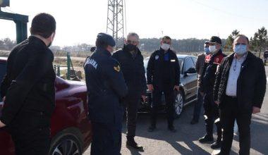 Başkan Helvacıoğlu, Jandarma ekiplerini ziyaret etti