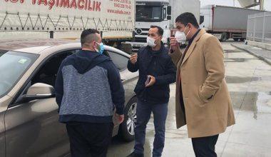 Edirne Sağlık Müdürü Yıldırım, İpsala Sınır Kapısı'ndaki Kovid-19 tedbirlerini inceledi