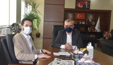 Keşan Belediye Başkanı Helvacıoğlu'na ziyaret