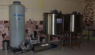 Dezenfektan ve temizlik malzemesi üreterek destek oluyor