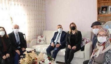 Kırklareli Valisi Bilgin şehit ve gazi ailelerini ziyaret etti