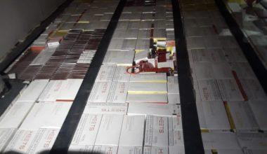 7 bin 600 paket elektronik sigara tütünü ele geçirildi