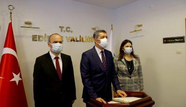 Milli Eğitim Bakanı Selçuk Edirne'deydi