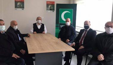 Saadet Partisi il yönetiminden, Yeşilay'a ziyaret