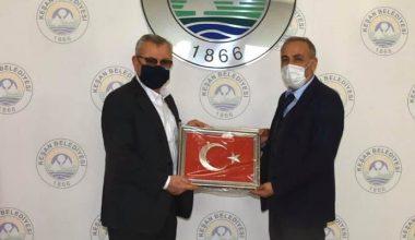 Eceabat Belediye Başkanı Keşan'daydı