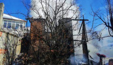 Sakarya'da depo yangını