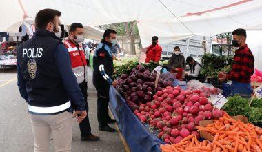 Sultanbeyli'de semt pazarları düzenli olarak denetleniyor