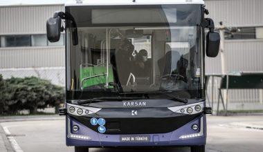 Erdoğan'ın test ettiği elektrikli sürücüsüz otobüs, tanıtıldı