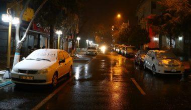 Kırklareli ve Tekirdağ'da kar yağışı başladı
