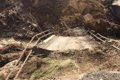 Taşkın nedeniyle yıkılan köprülerin yapımı için çalışmalara başlandı
